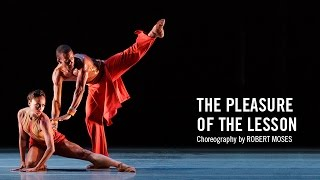 Alvin Ailey: The Pleasure of the Lesson by Robert Moses