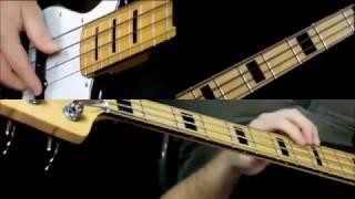 Autumn Leaves Bass Guitar Lesson - Basslines- Jazz Standard