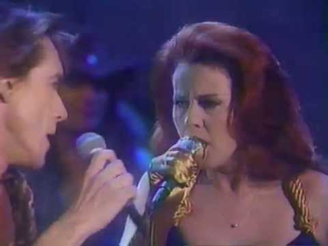 "Iggy Pop & Kate Pierson""Candy"" ; Arsenio Jan 1991"