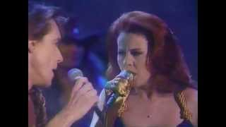 "Iggy Pop & Kate Pierson  ""Candy"" ; Arsenio Jan 1991"