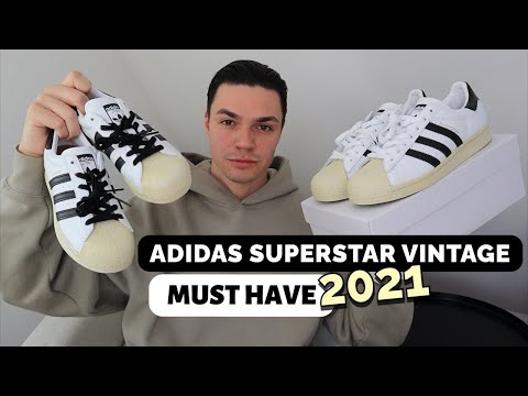 ADIDAS SUPERSTAR VINTAGE ⭐️  Sneaker Review 👟🔍  Make ADIDAS great again in 2021   Luke Bailey