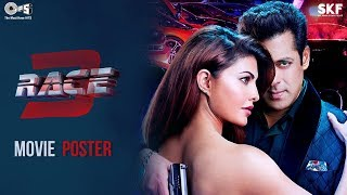 Race 3 Movie Poster - Salman Khan & Jacqueline Fernandez   Remo D'Souza   #Race3ThisEID