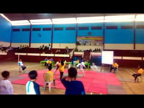 Pertandingan taekwondo KONI lumajang, GPL, gak pake lama