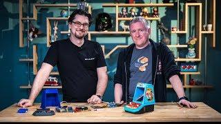 Bits to Atoms: The Pi Score Arcade Cabinet