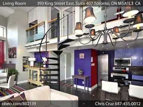 SOLD OVER ASKING! 393 King Street East, Suite 407