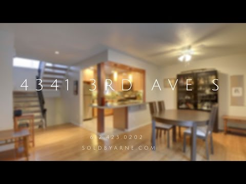 4341 3rd Ave S Townhouse For Sale South Minneapolis