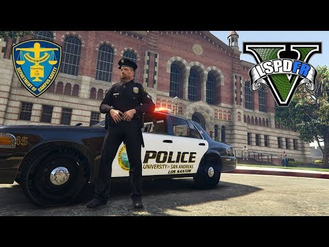 GTA 5 LSPDFR - University Campus Police - Crazy Callouts!!