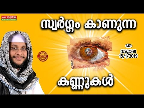 NOUSHAD BAQAVI NEW SPEECH | swargam kaanunna kannukal | 15/1/2019 | Vaduthala
