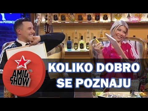 Koliko Dobro Se Poznaju - Danijela i Ivan (Ami G Show S11)