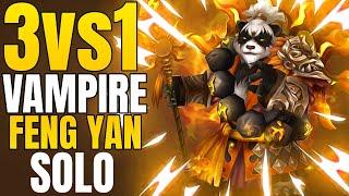 GOD Feng Yan 3 Vs. 1 Solo Vampire Set! - Summoners War