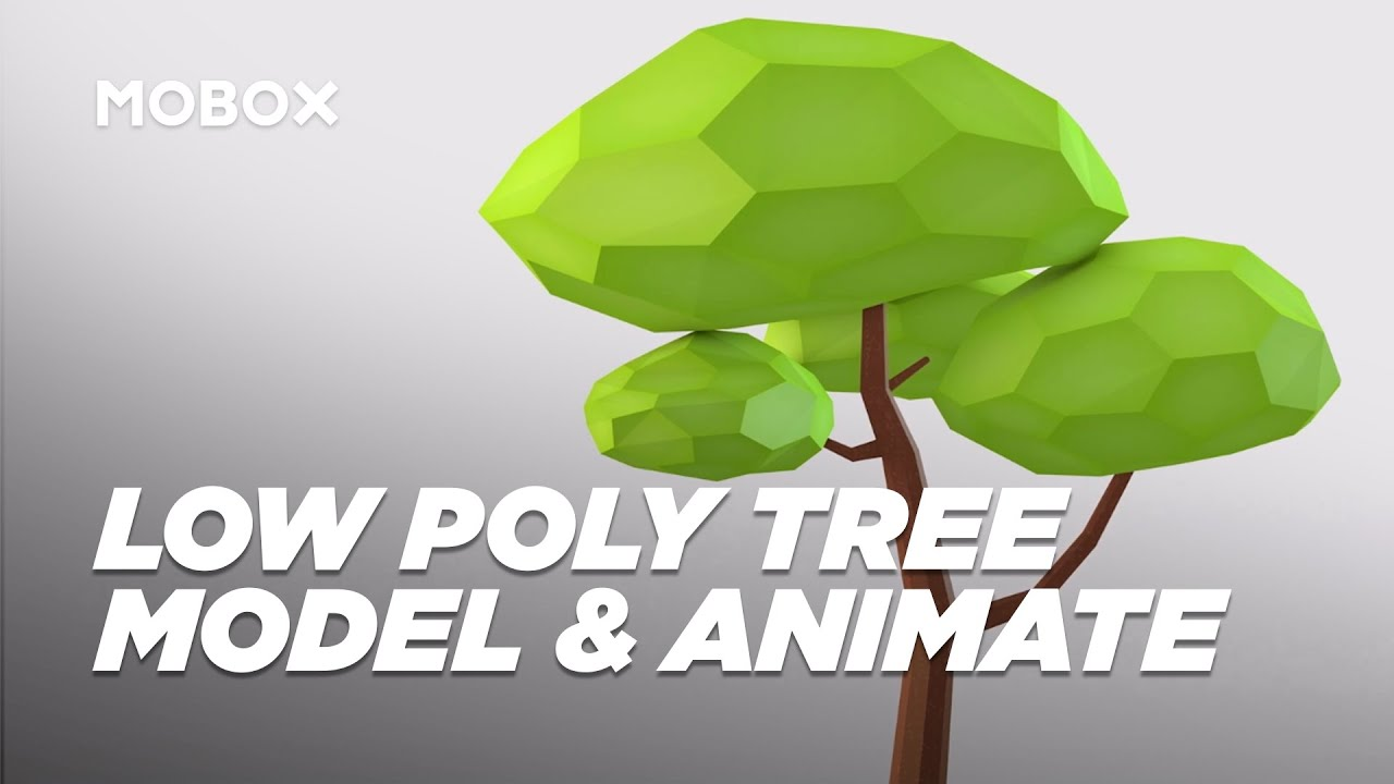 How to Model & Animate a Low Poly Tree - Cinema 4D Tutorial