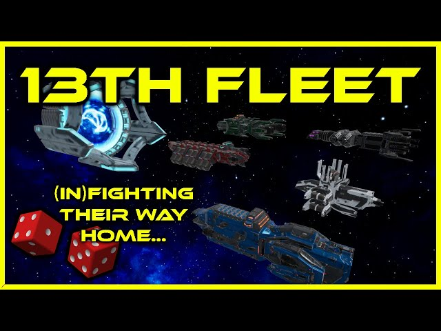 13th Fleet Mission #3! Sci Fi Dark Humor TTRPG Actual Play