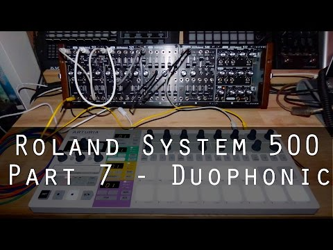 Roland System-500 part 7 - Duophonic