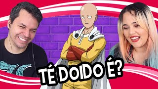 REACT ONE PUNCH MAN - TÉ DOIDO É? (PARÓDIA) (Voice Makers)