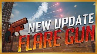 Flare Gun xuất hiện trong Update Mới PUBG - FLARE GUN IN PUBG