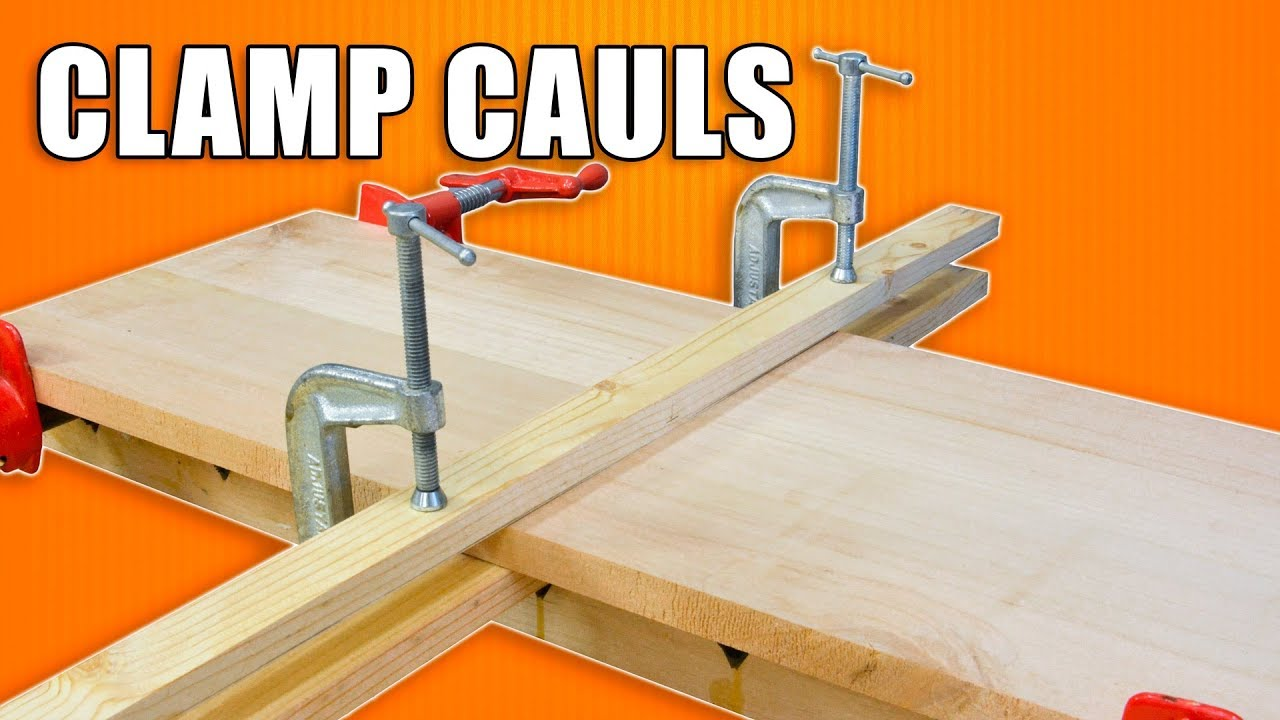 better glues ups with clamping cauls / caul gluing clamps