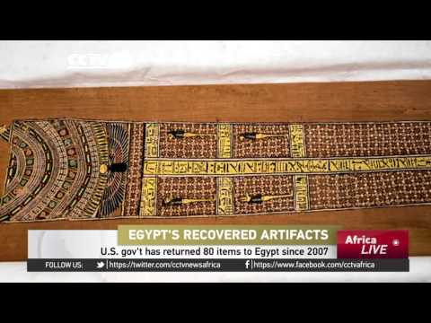 US government repatriates stolen artifacts back to Egypt