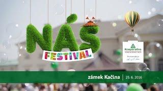 NÁŠ festival 2016 - Kooperativa 25 let