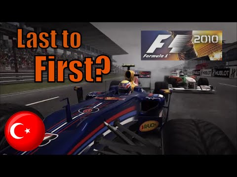 RETURN TO F1 2010: Mark Webber: Wet Turkey Last to First?