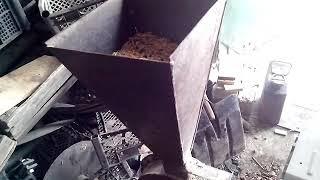 Зернодробилка на базе мотоблока