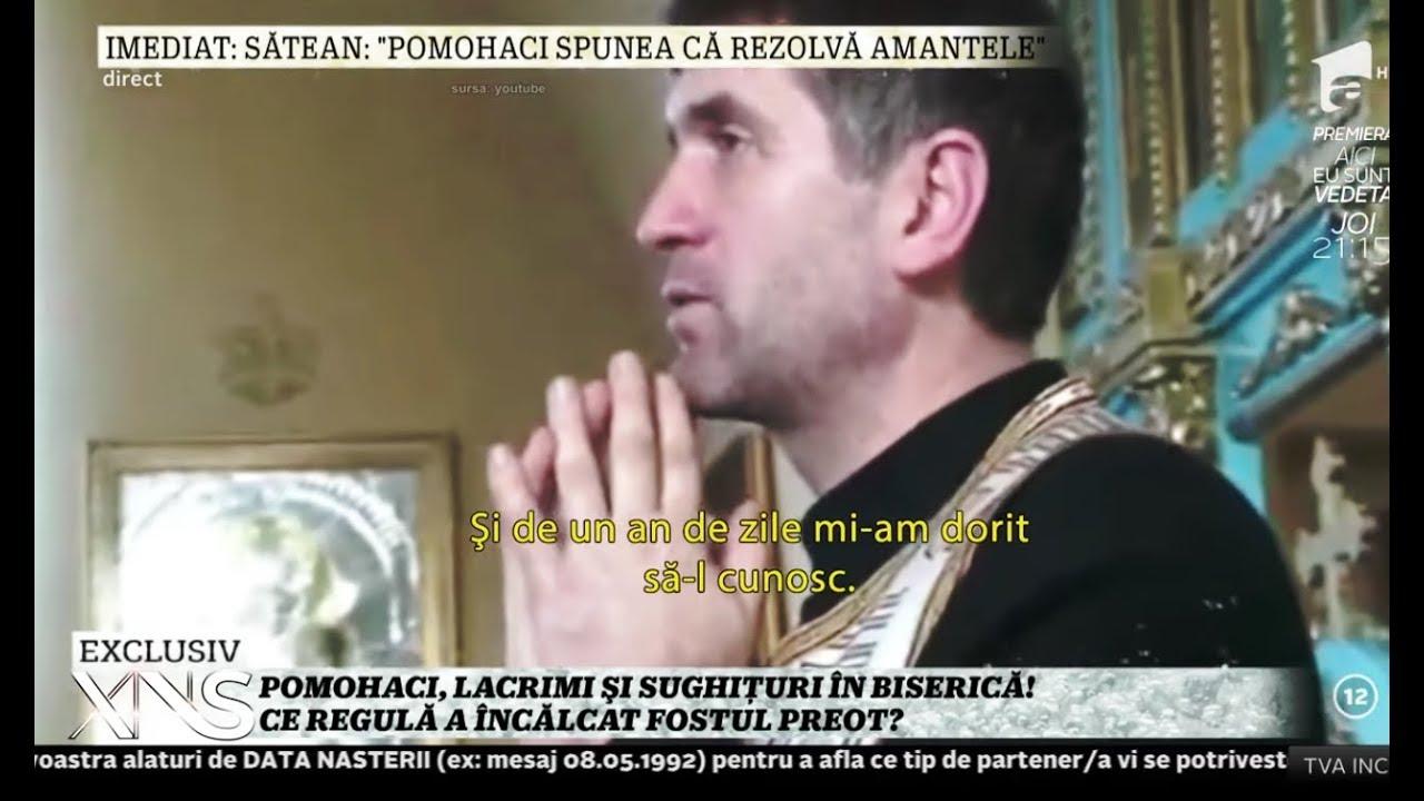 Cristian Pomohaci, lacrimi în biserică. În 2009, fostul preot strângea bani de la enoriași