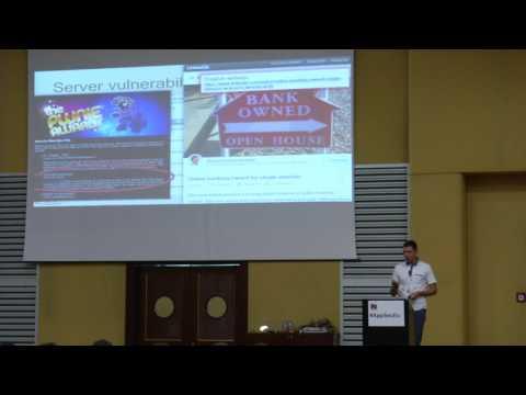 AppSecEU 16 - Wojtek Dworakowski - Internet banking safeguards vulnerabilities