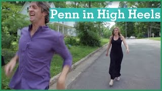 Video Penn wears high heels | The Holderness Family download MP3, 3GP, MP4, WEBM, AVI, FLV Juni 2018
