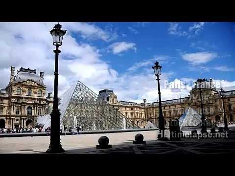 Paris, France - UHD Ultra HD 2K 4K 5K Time Lapse Stock Footage Royalty-Free