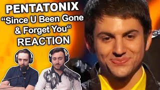 """Pentatonix - Since U Been Gone & Forget You (Sing Off)"" Singers Reaction"