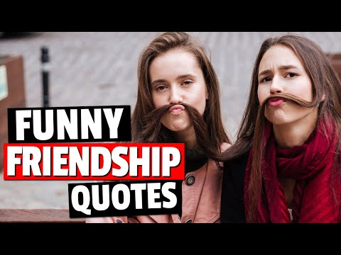 Funny Friendship Quotes That Will Get You Laughing - Inspirational Quotes
