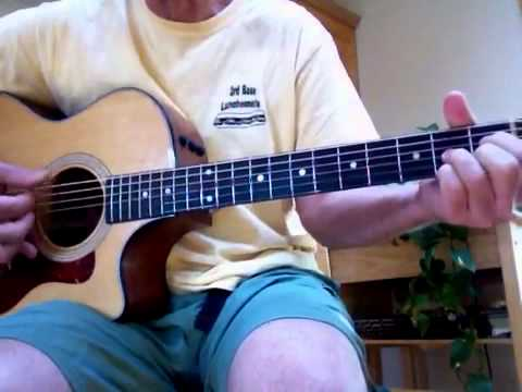 Here Today (McCartney) acoustic instrumental tutorial