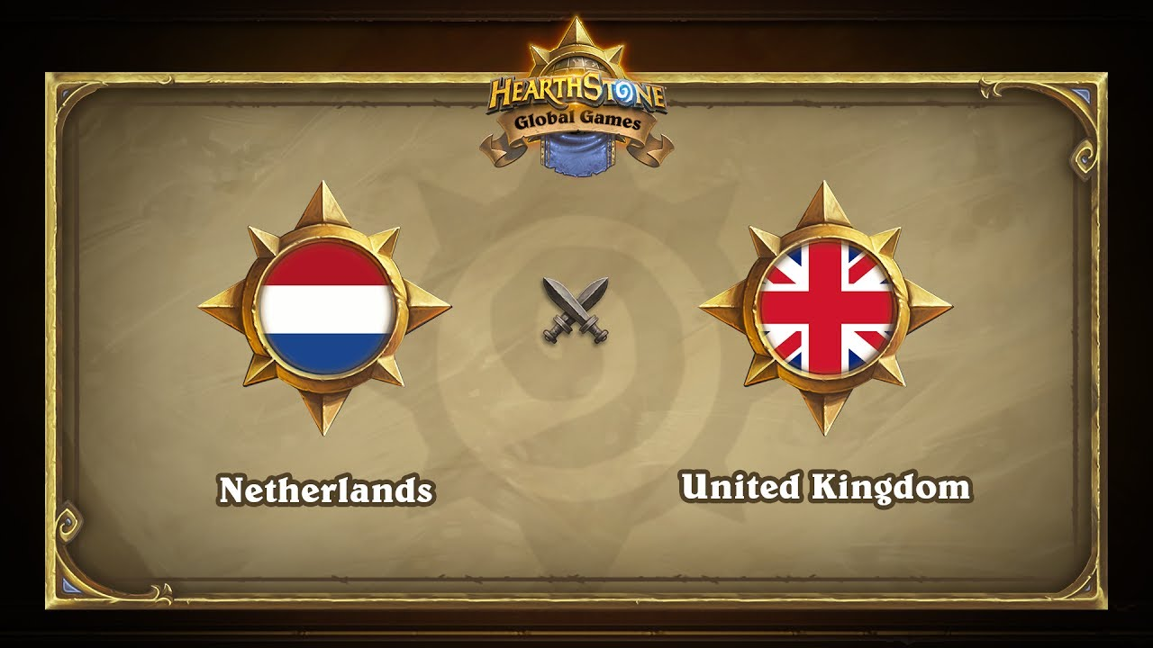 Нидерланды vs Великобритания | Netherlands vs United Kingdom | Hearthstone Global Games (31.05.2017)