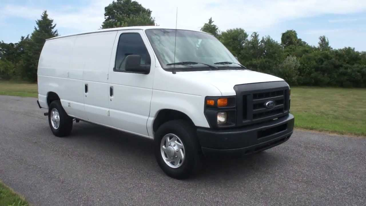 2010 ford e250 econoline cargo van for sale power windows locks salvage title youtube. Black Bedroom Furniture Sets. Home Design Ideas