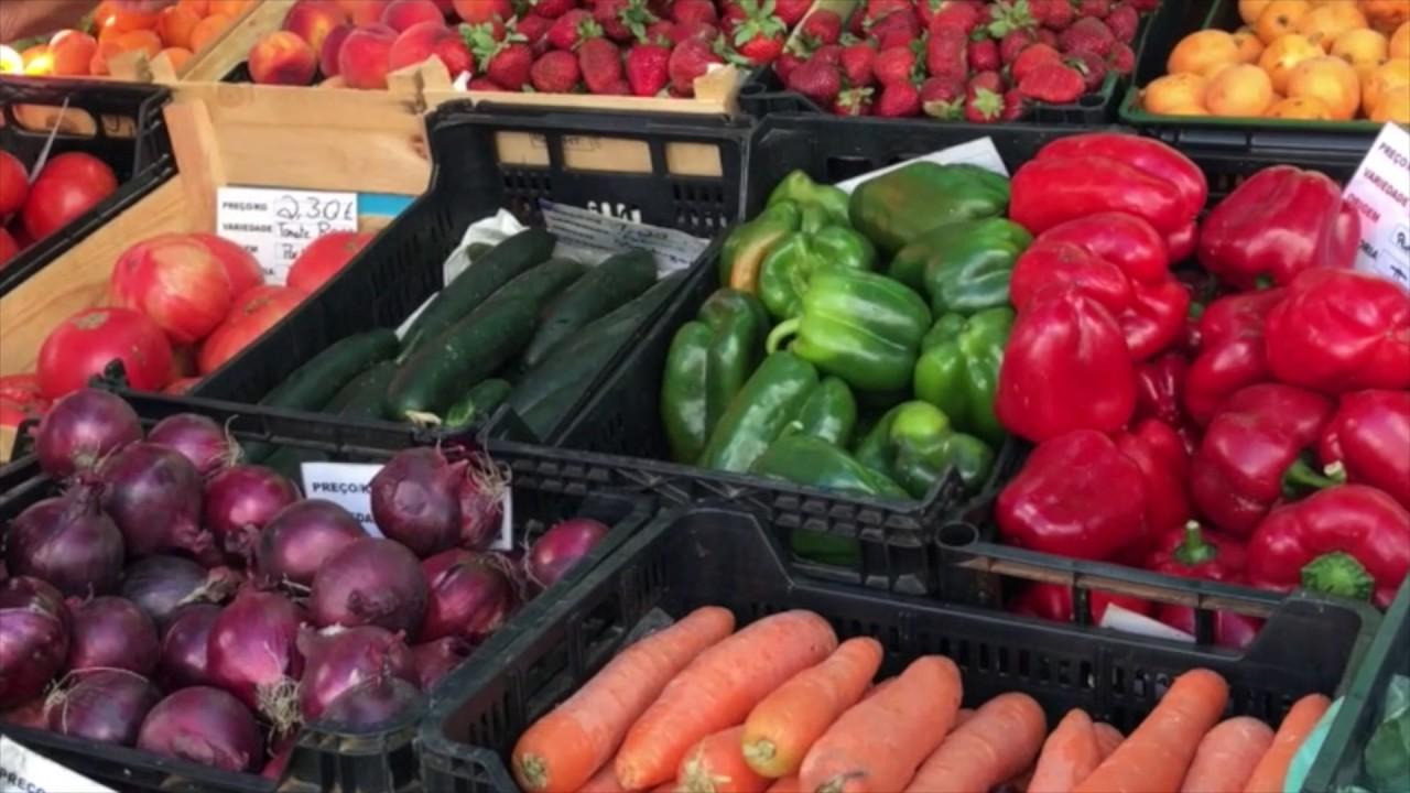 Рынок в Португалии | Цены на продукты в Португалии | Армсао де Пера