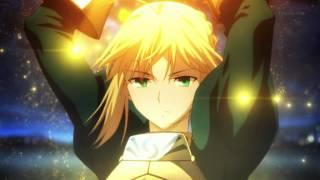 Fate/Zero - Excalibur Scene