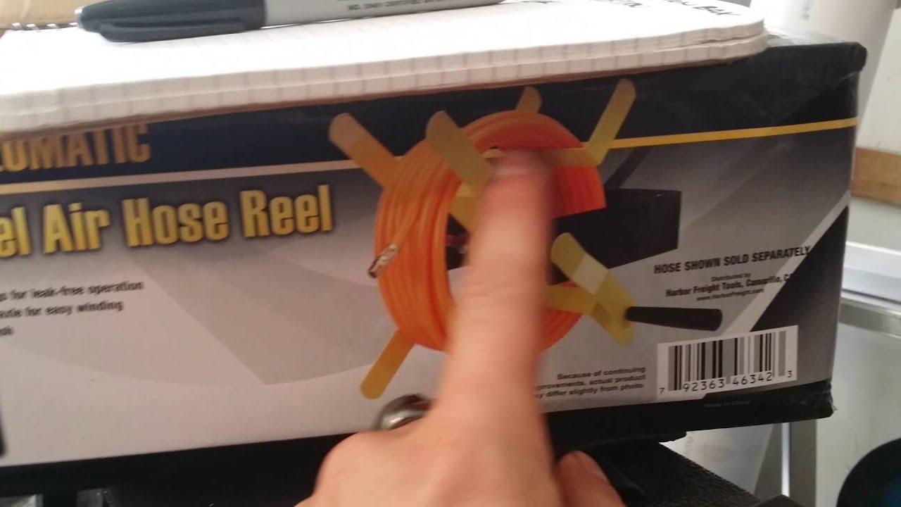 how to make a homemade air hose reel