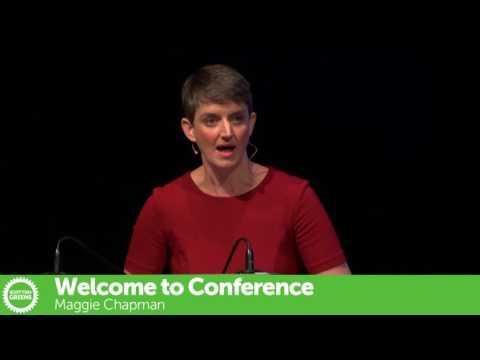 Maggie Chapman - Scottish Greens Autumn Conference 2016