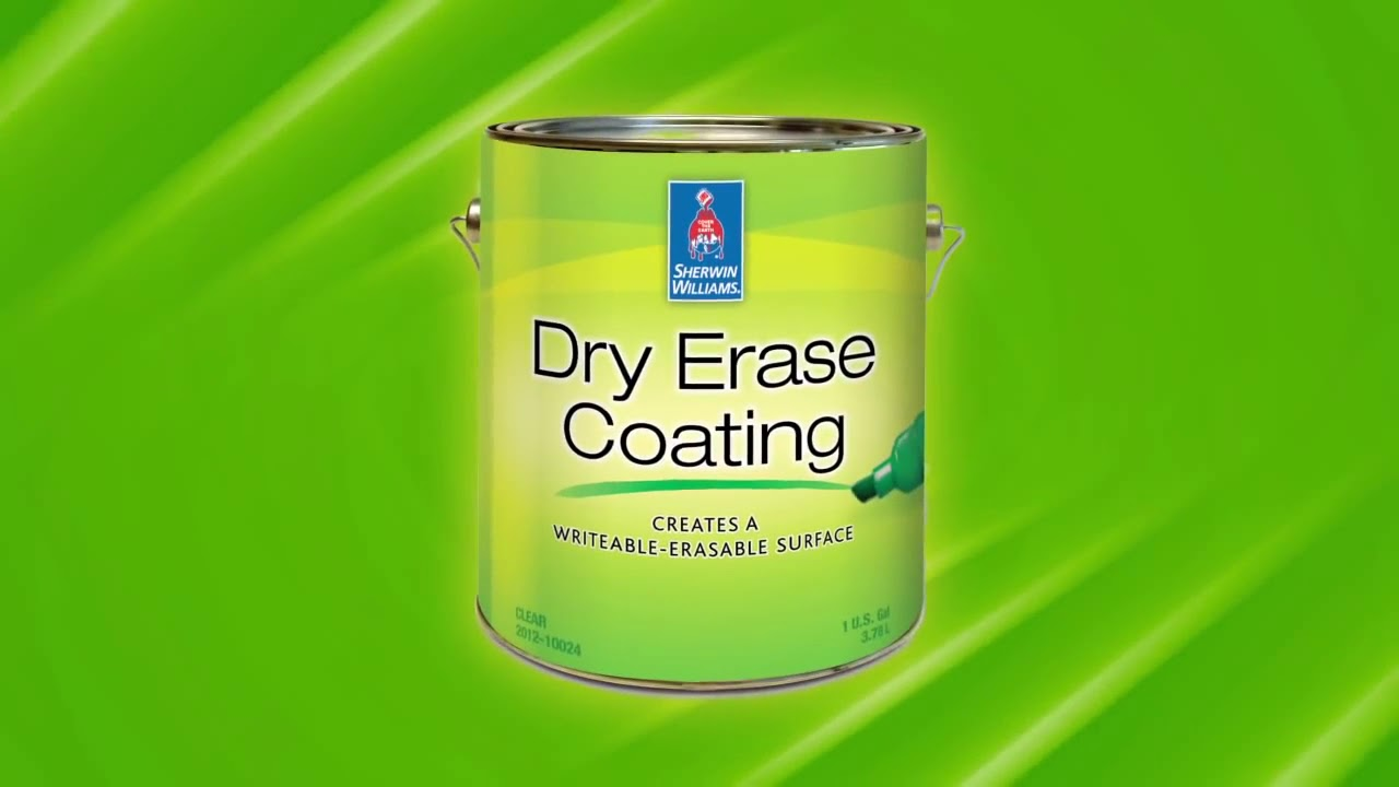 Dry Erase Coating Clear Gloss Sherwin Williams