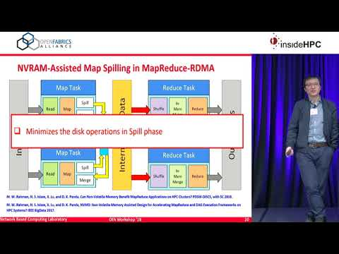 High-Performance Big Data Analytics with RDMA over NVM and NVMe-SSD