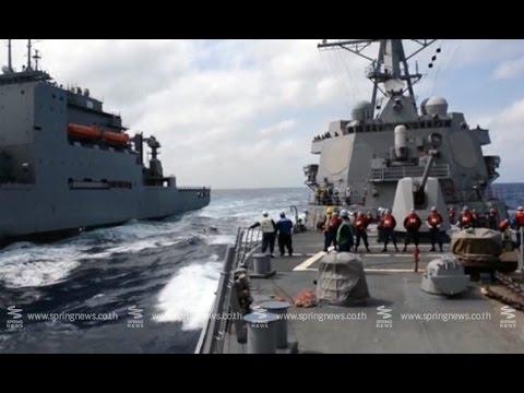 ความตึงเครียดในทะเลจีนใต้ปะทุหลังสหรัฐส่งเรือรบลาดตระเวน - Springnews