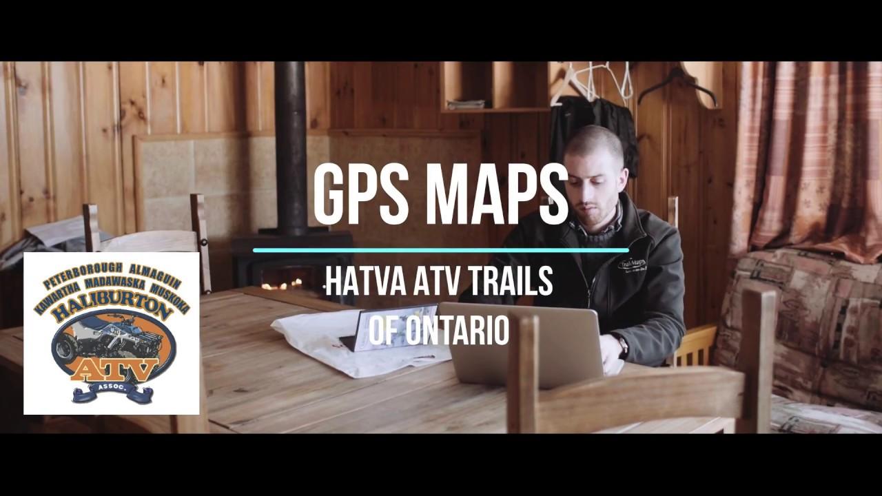HATVA ATV Maps of Ontario for Garmin GPS Units - YouTube on