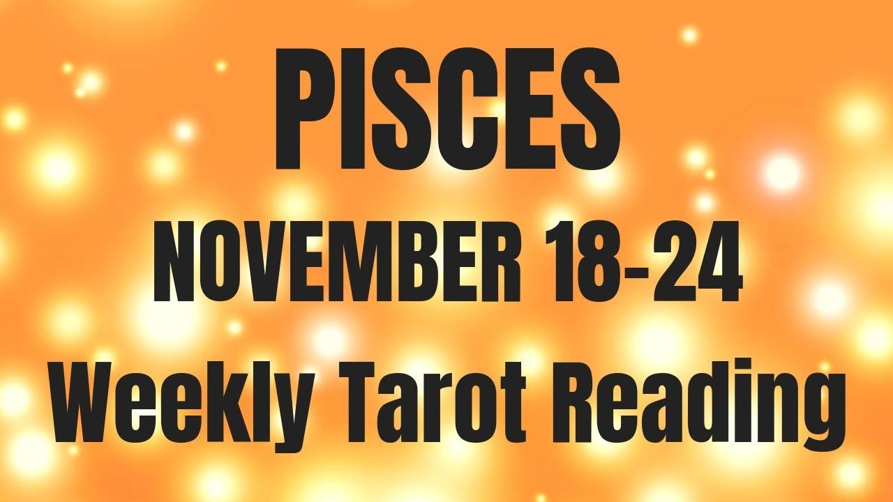 pisces weekly tarot november 7 2019