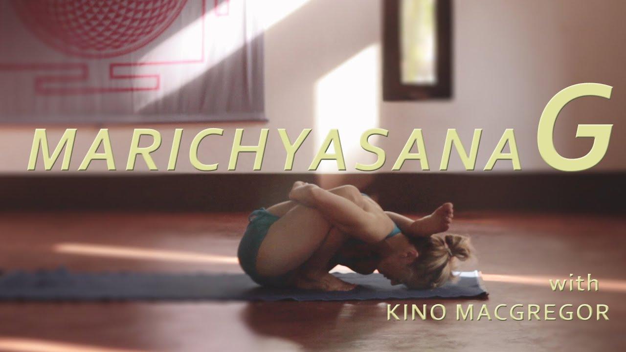 Marichyasana G with Kino Macgregor (Fourth Series Ashtanga Yoga Demonstration)