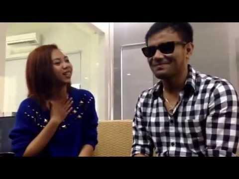 """Judika feat Ivana """" Sampai Akhir """" at Kapanlagi dot com office Malang"""