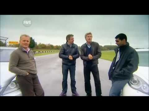 Karun Chandhok on Fifth Gear with the lads from Channel 5!