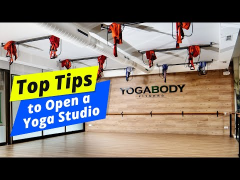 How to setup a house Yoga Studio