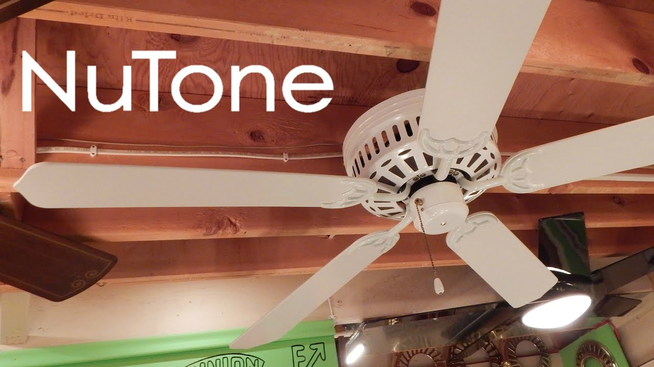 Nutone hug the ceiling ceiling fan 1080p hd remake youtube aloadofball Images