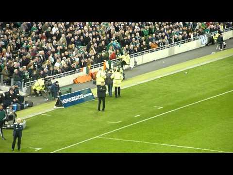 Irish Fan Moons Aviva Stadium