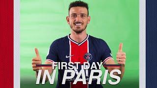 🔴🔵 FIRST DAY IN PARIS - ALESSANDRO FLORENZI 🔴🔵