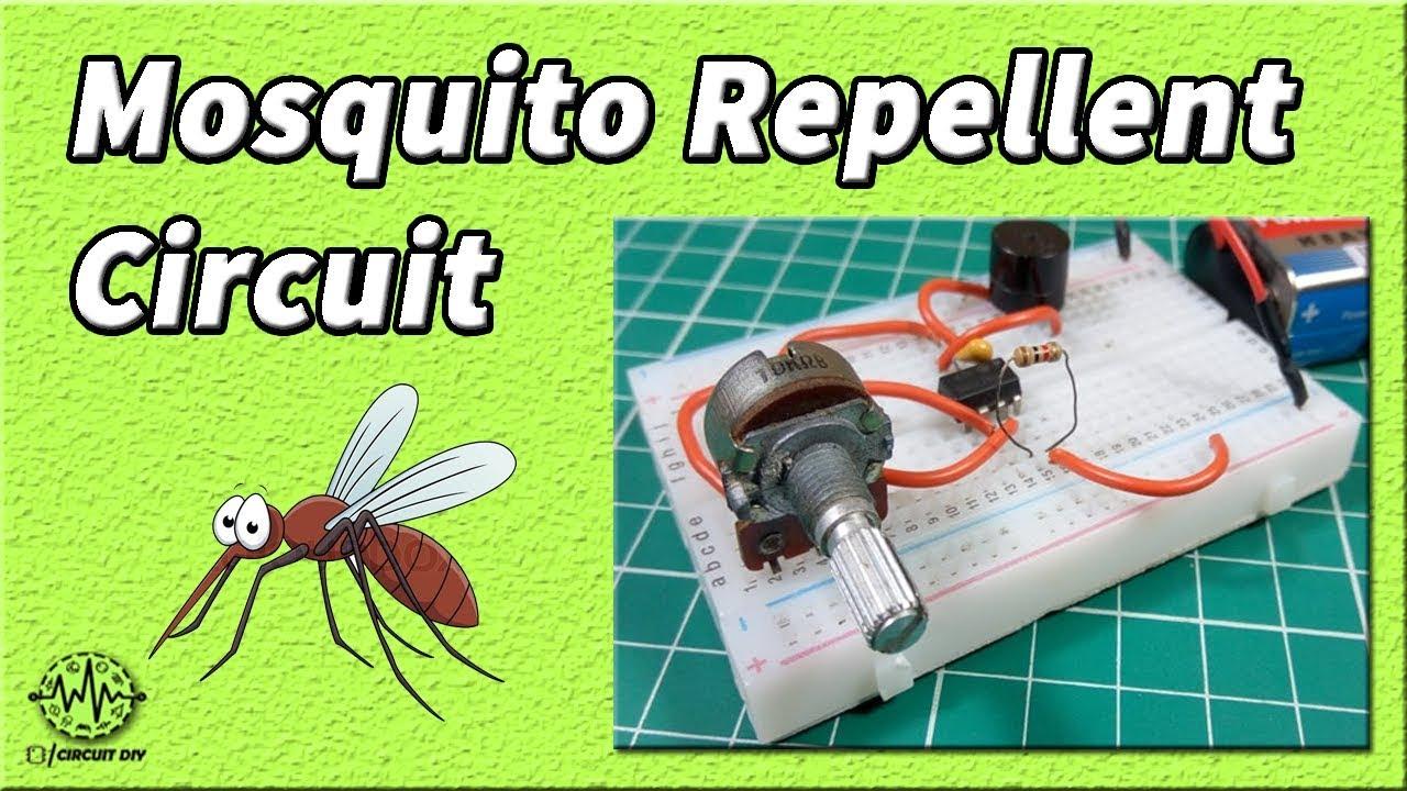 Mosquito Repellent Circuit 555 Timer Circuit Homemade Mosquito